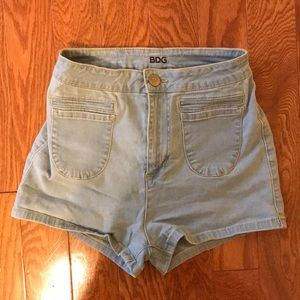Urban Outfitters BDG Light Wash Shorts